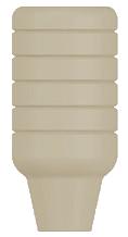 PEEK Healing Cap, Conical
