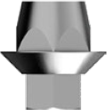 Абатмент эстетический антиротационный (мультиюнит прямой)