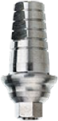 Anatomical Titanium Shoulder Abutment, Straight