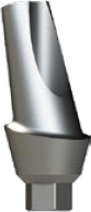 Анатомический титановый абатмент угловой 15°