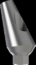 Angular Antirotational Titanium Abutment 25°